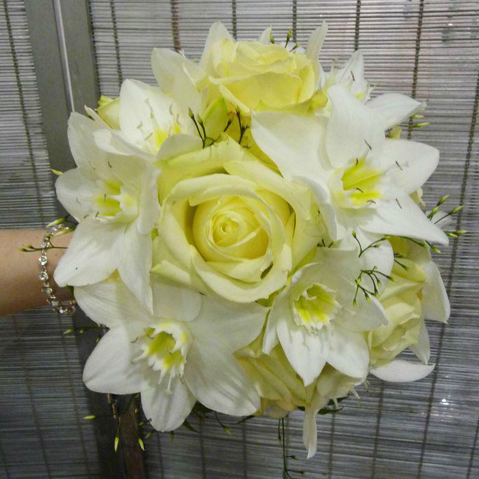 Beispiel: Hochzeitsfloristik, Foto: Blumenhaus Frei.