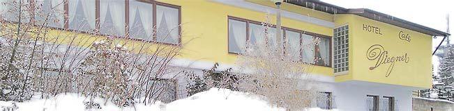 Beispiel: Außenansicht, Foto: Hotel Restaurant Diegner.