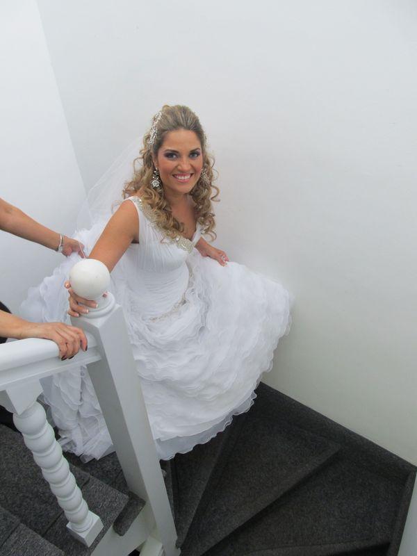 Una novia rumbo al altar