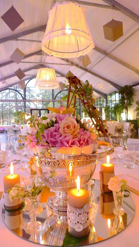 GoodMoon - Mariage fleurs anciennes Argenterie