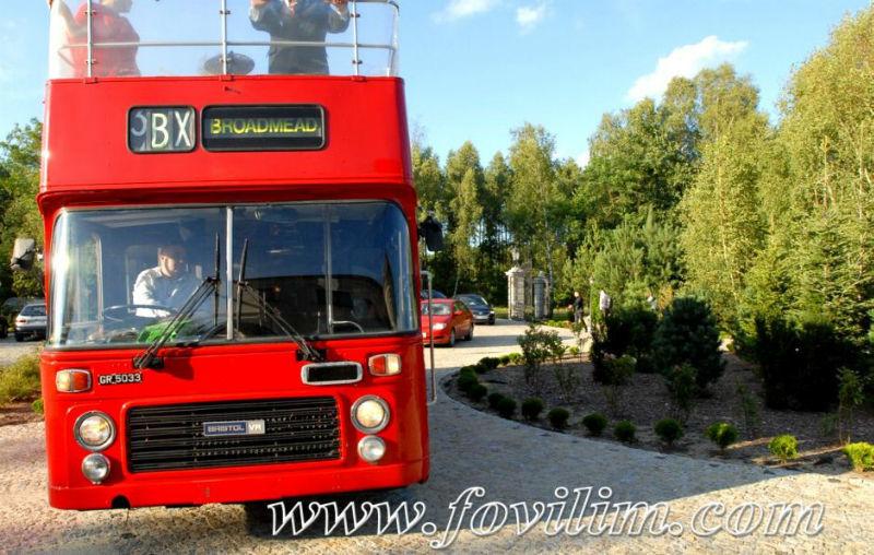 FOVILIM transport gości weselnych autobusami