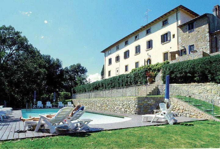 Il Castagno Tuscany la piscina privata