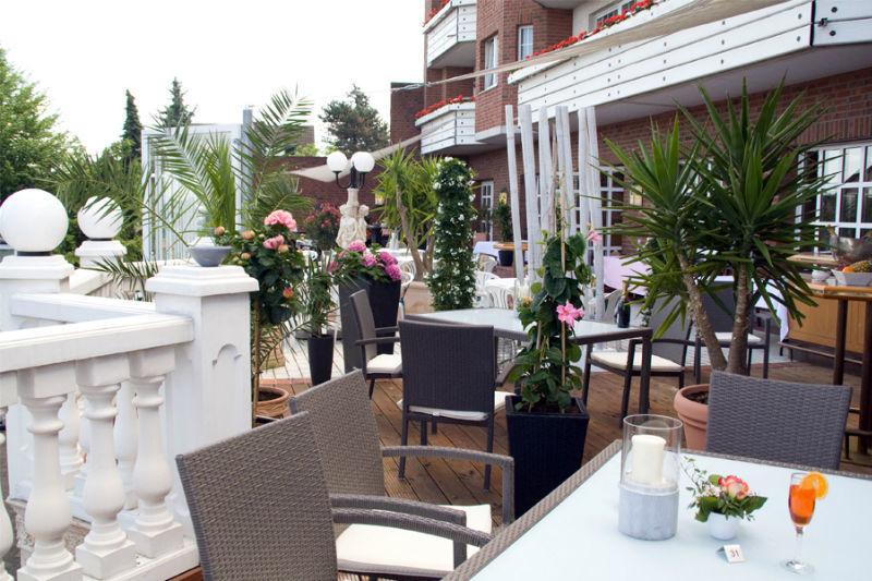 Beispiel: Terrasse, Foto: Landhaus Wieler.