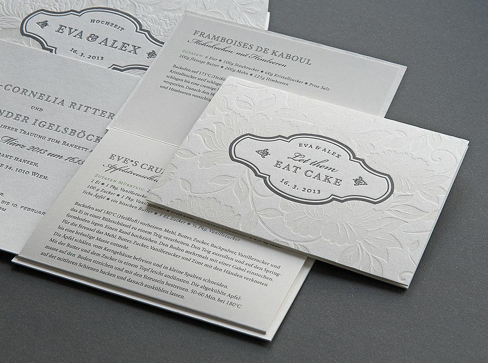 Beispiel: Hochzeitspapeterie, Foto: Herz & Co.