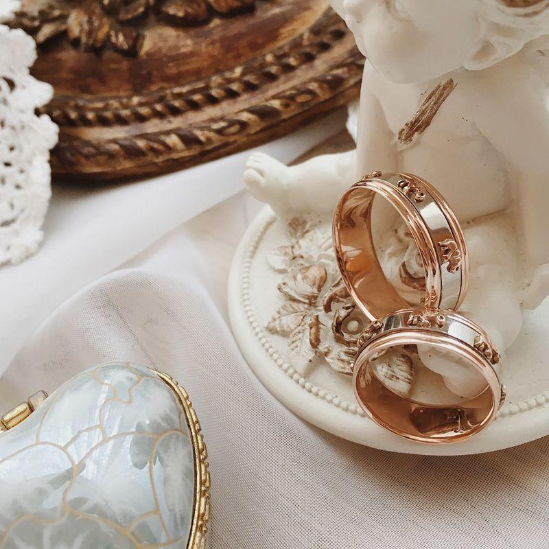 Обручальные кольца ручной работы Yaselisa