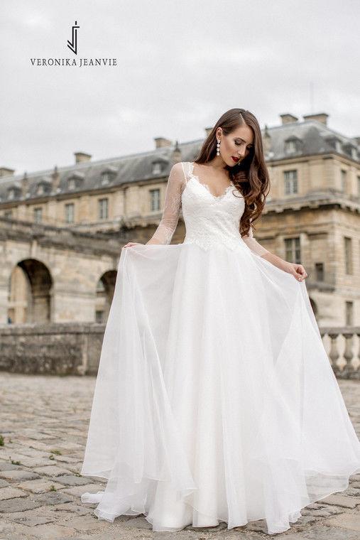 Robe de mariée fluide | Collection 2017 | Veronika Jeanvie