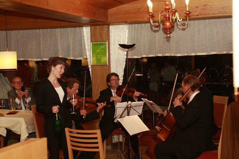 Beispiel: Musikalische Unterhaltung, Foto: Hotel Schönblick.