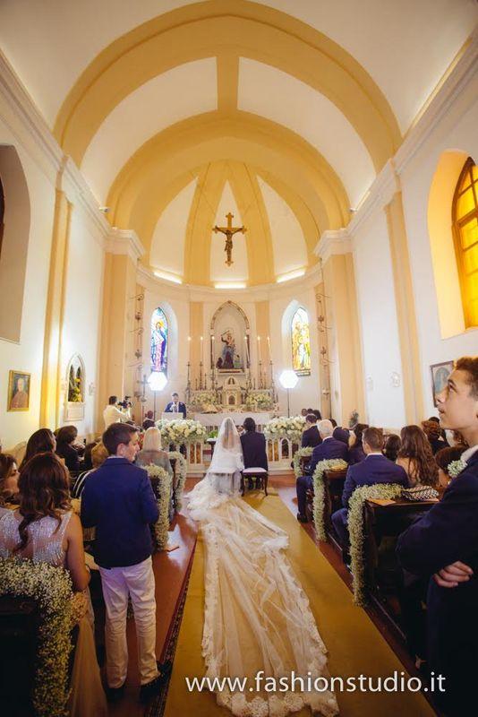 Religious Cerimony in the Private Chapel