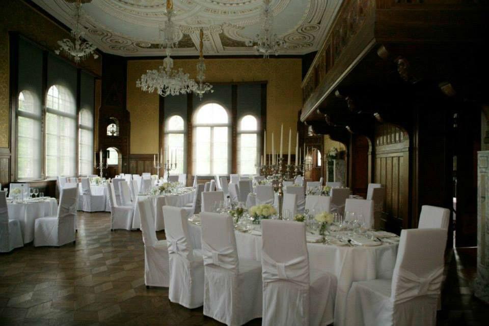 Beispiel: Hochzeitsfloristik, Foto: Blumen Kuhn Floraldesign.