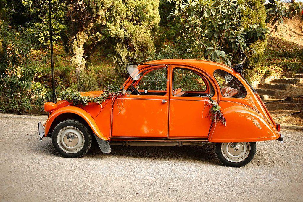 Ideal coche clásico de novios