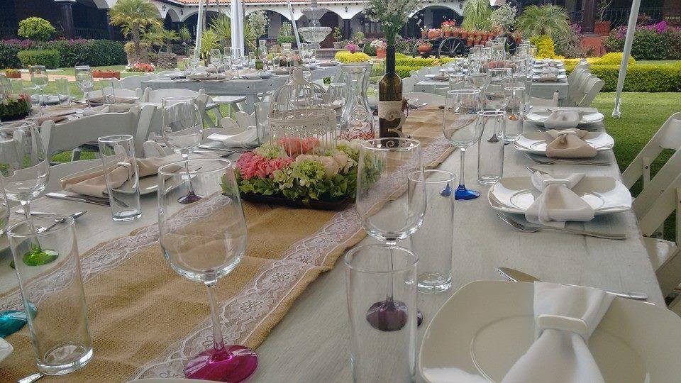 Renta de mesas vintage L&L Eventos