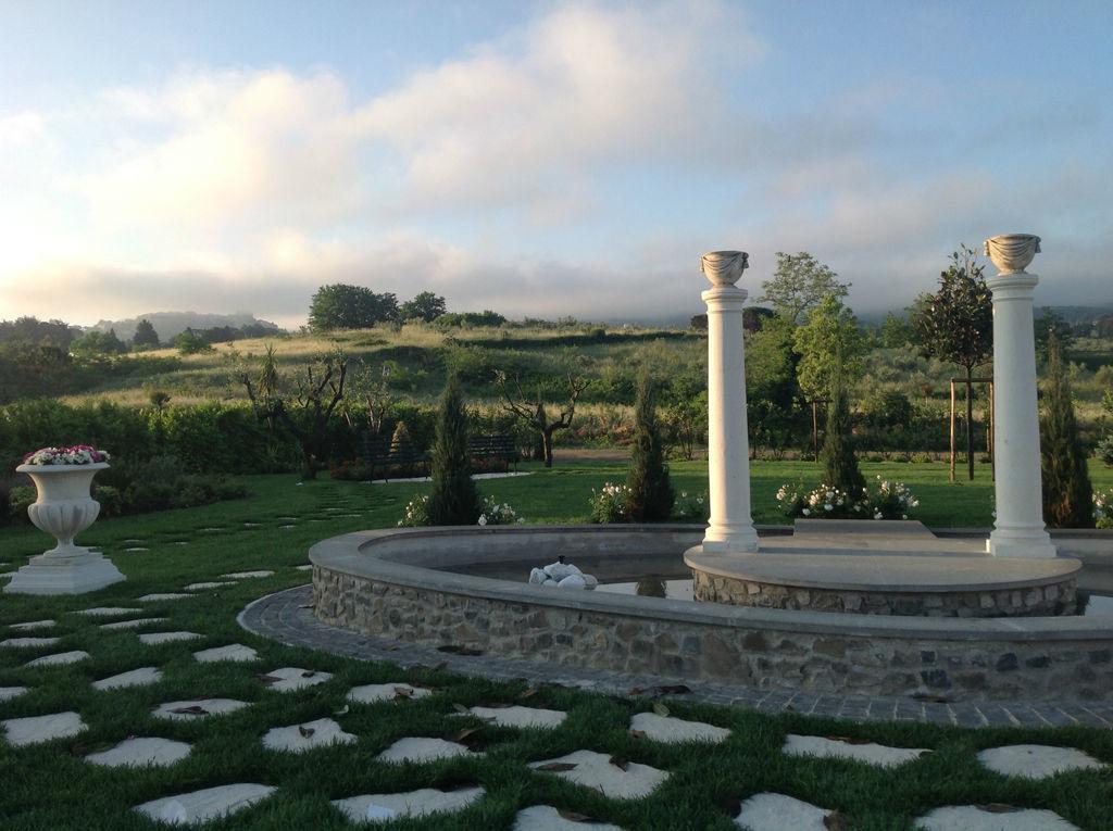 Il giardino a Villa dei Consoli