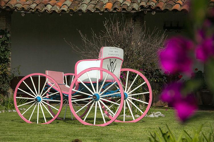 Rincones románticos por todos lados. -Hacienda Buenavista.