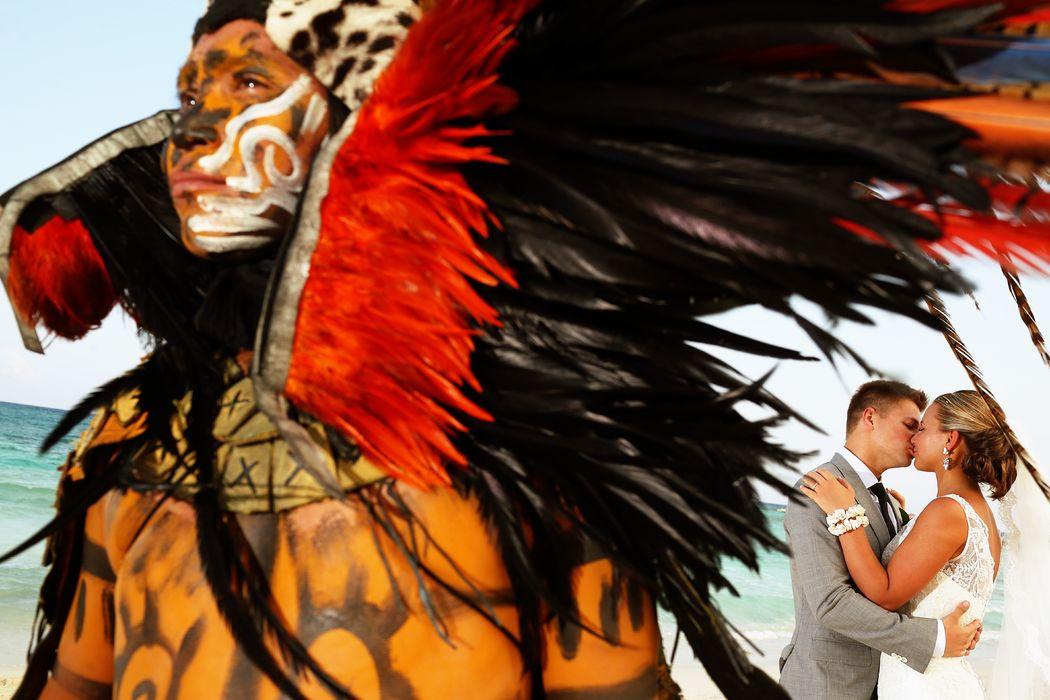 Barceló Maya Grand Resort Ceremonia Maya