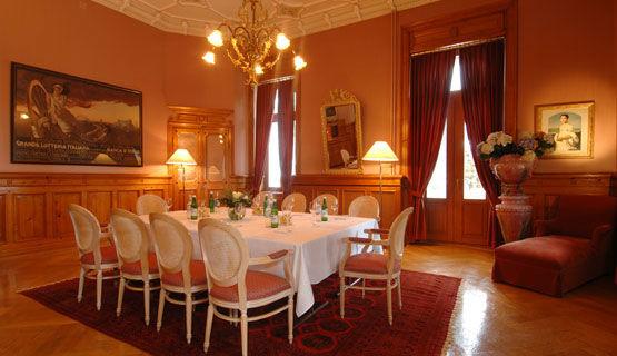 Beispiel: Hochzeitstafel, Foto: Schweizerhof Flims.