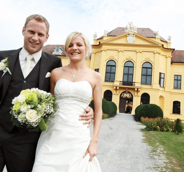 Beispiel: Hochzeitspaar, Foto: Jagdschloss Eckartsau.