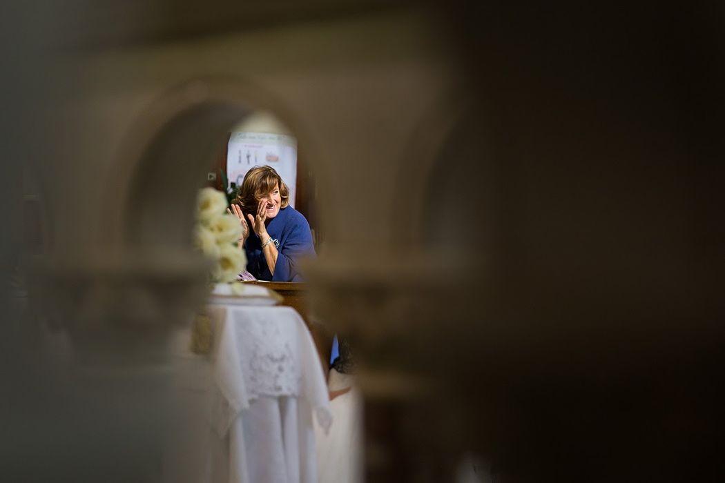 Matrimonio in chiesa, suocera