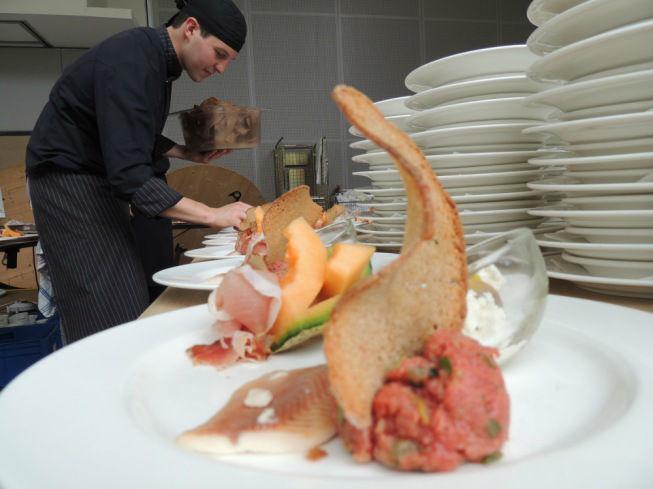 Beispiel: Kulinarische Genüsse, Foto: Schlosshotel Eisenstrasse.