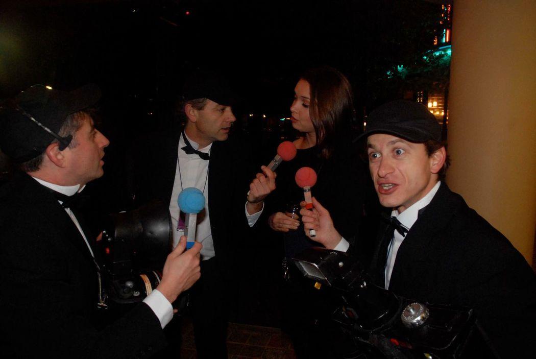 Les Paparasites-Interviewer