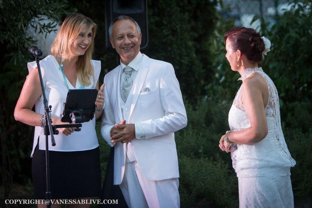 Cocktail de Mariage avec Chanteuse - Mariés - Var