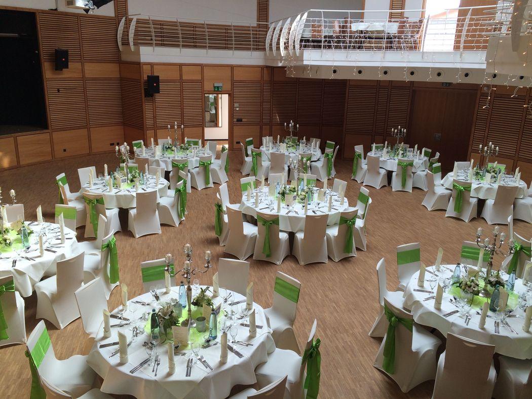 Bespiel: Hochzeit ; Eventhalle ;  Foto: Centrum für Freizeit und Kommunikation