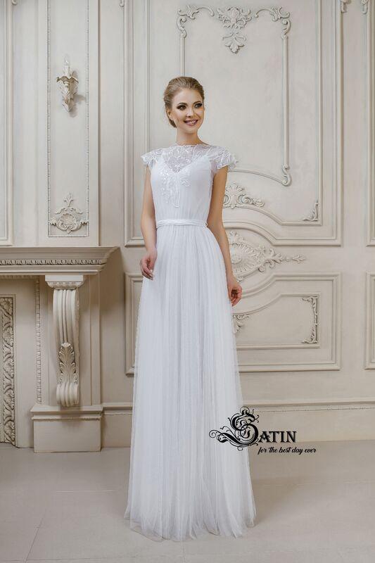 Легкое, летящее платье от австрийского бренда Solomia, линия Satin