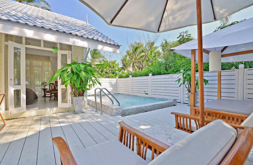 Entspannung pur in der eigenen Vill gesucht? - Centara Grand Beach Resort & Villas Hua Hin - Thailand, Foto: Centara Hotels and Resorts.