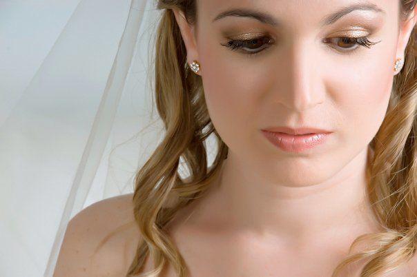 Marifé,  novia maquillada por Ingrid Ackermann