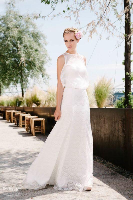 Beispiel: Brautkleid - Kollektion Küss die Braut, Foto: La Promesse Braut- und Abendmode.