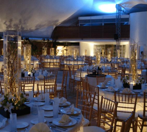 Banquetes y locación para boda en México - Foto Terrazas Belvedere
