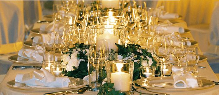 Beispiel: Kreative Beratung auch bei der Tischdekoration, Foto: L'arrangement.