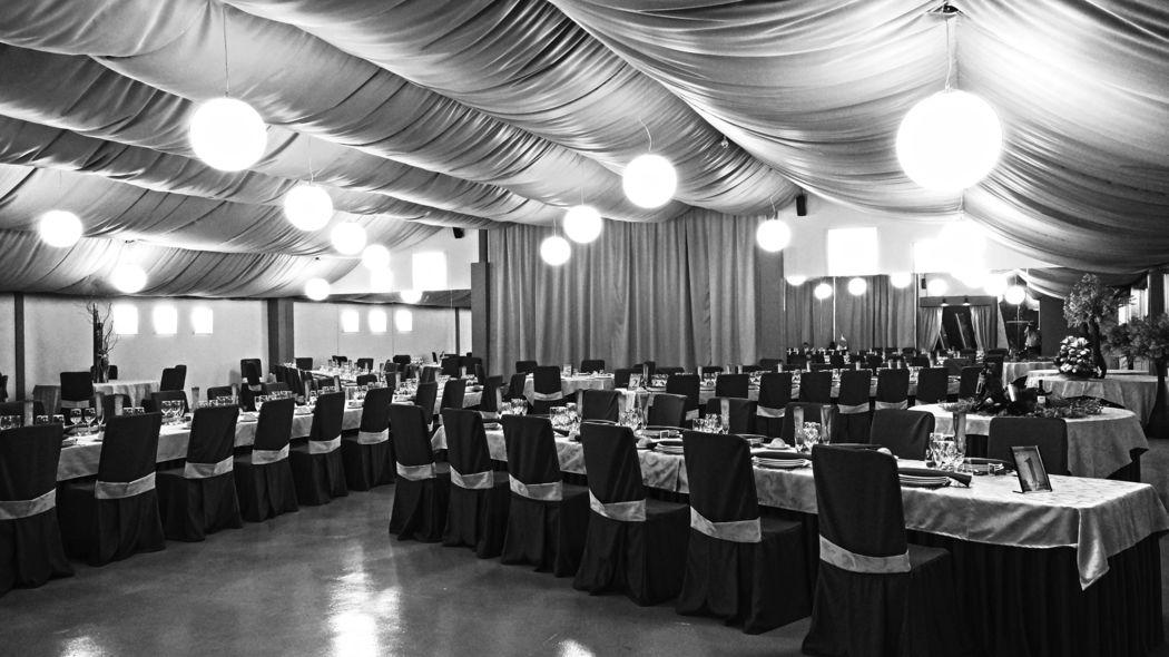 El salón de La Montera con capacidad de 400 comensales