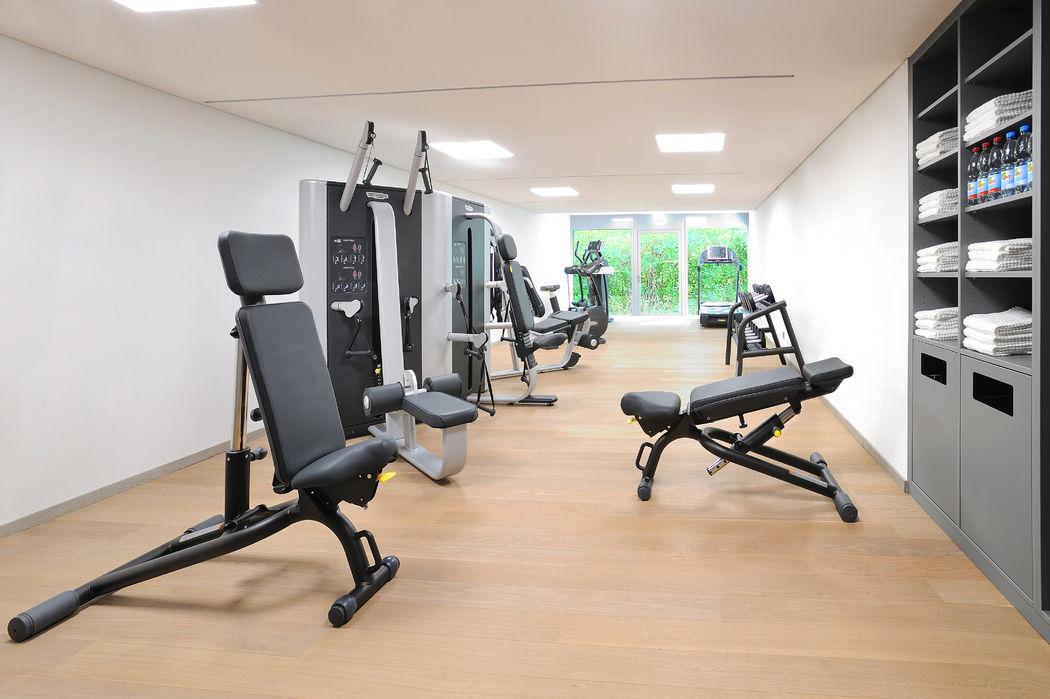 Beispiel: Fitnessraum, Foto: Schlosshotel Monrepos.