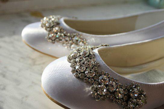 Beispiel: Die Schuhe für Ihren großen Tag, Foto: White Silhouette.
