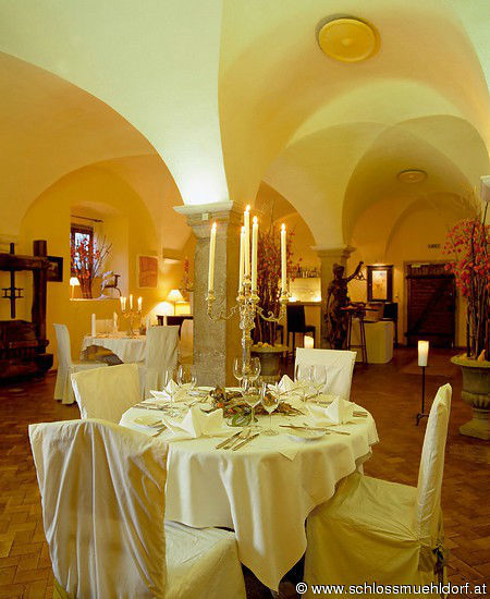 Beispiel: Innenbereich, Foto: Schloss Mühldorf.