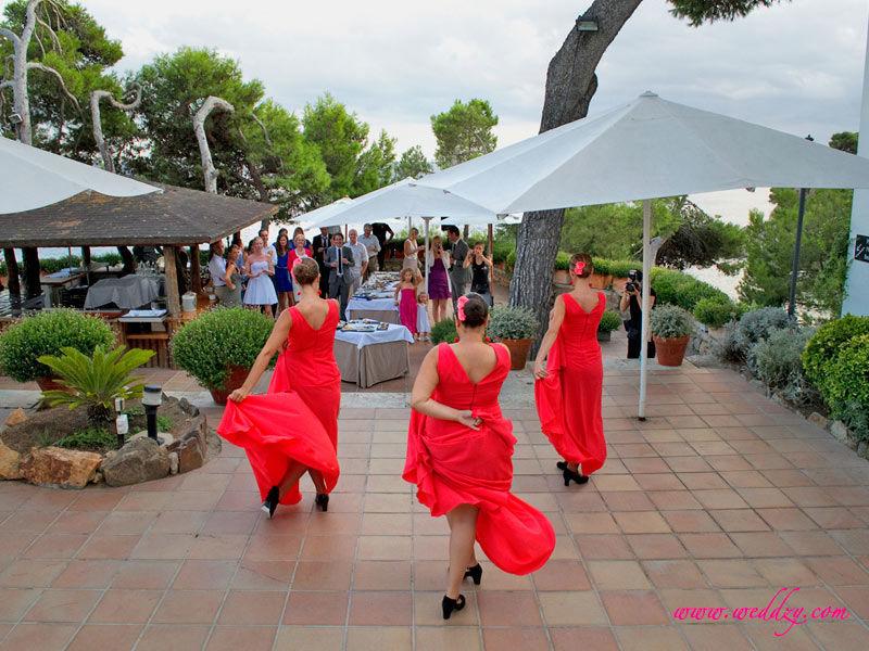Spectacle de danseuses de Flamenco pour un mariage en Espagne