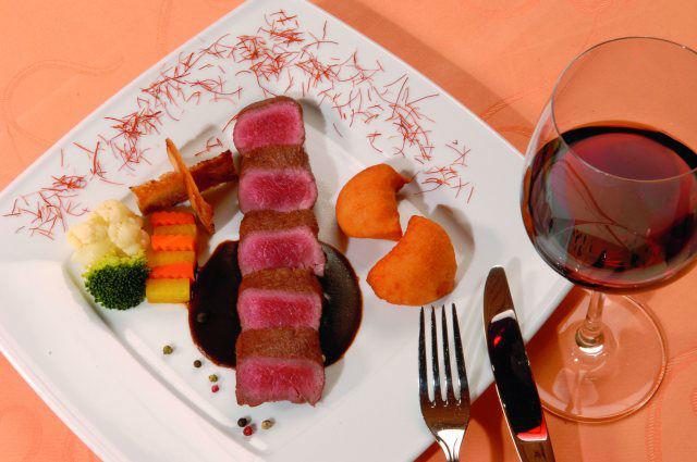 Beispiel: Serviervorschlag, Foto: Hotel Restaurant Talblick.