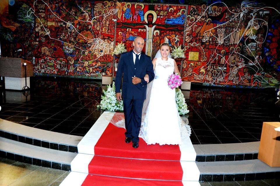 Jaqueline e Vinicius 22/11/2014 - Igreja São Bento do Morumbi e Espaço Vale do Falcão