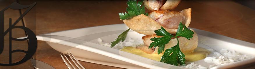 Beispiel: Speisen, Foto: Restaurant Gänsbauer.
