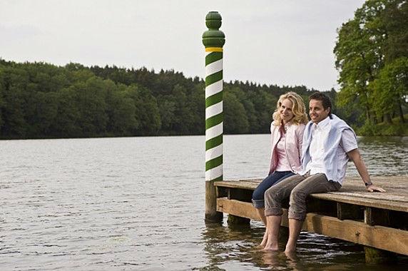 Beispiel: Badesteg, Foto: Gut Klostermühle.