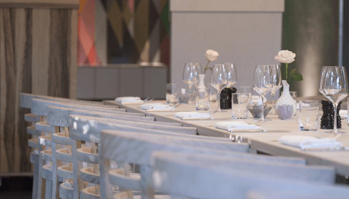 Beispiel: Hochzeitstafel, Foto: Tessins.