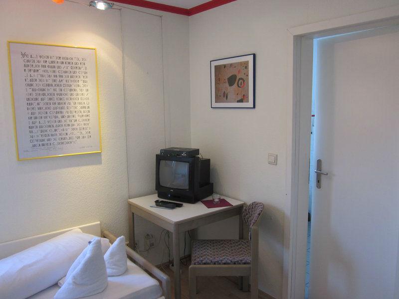 Beispiel: Zimmer Din-Norm, Foto: Möhls Gasthof.