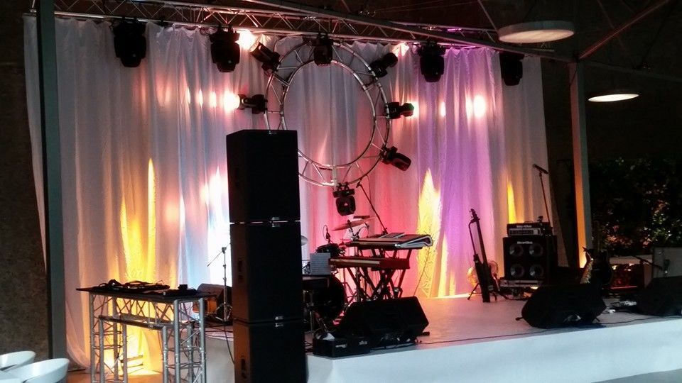 Palco, Som e Luzes | Stage, Sound and Lighting