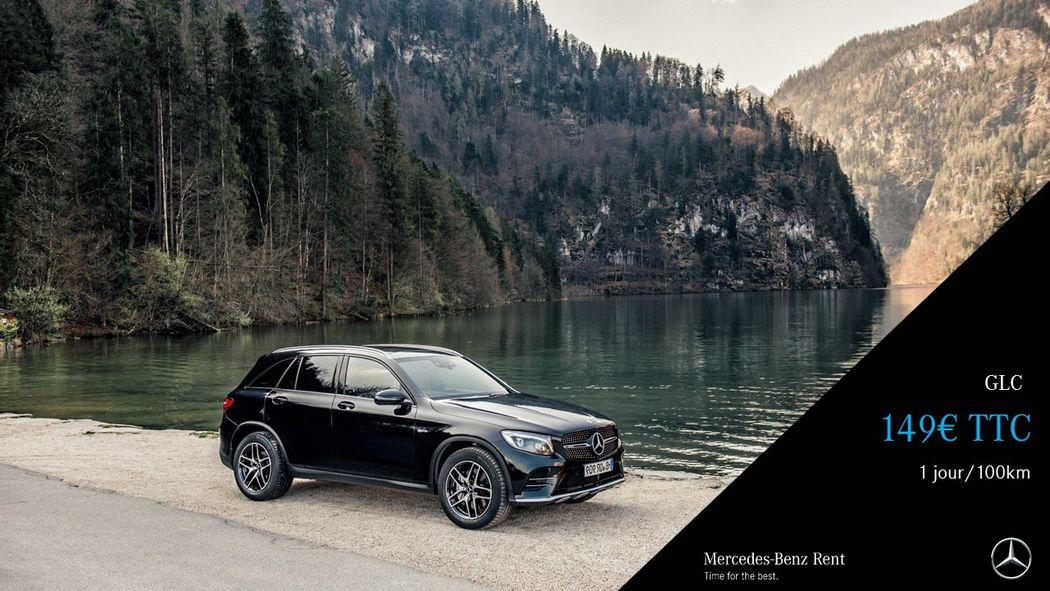Mercedes-Benz Rent Paris 16