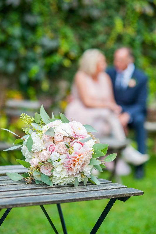Bouquet de mariée Crédit Photo : Sabrina Godemert