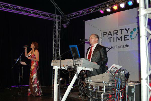 Beispiel: Ihre Liveband für Ihr Hochzeitsfest, Foto: Die Band Party-Time.