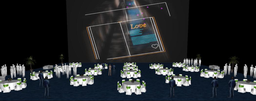 D&D laser show