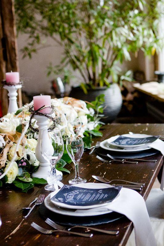 Tischdekoration Märchenhochzeit