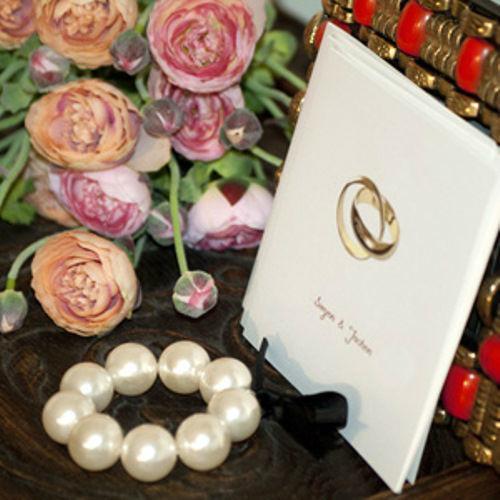 Beispiel: Einladung zur Hochzeit selbst gestalten, Foto: Schobuk.