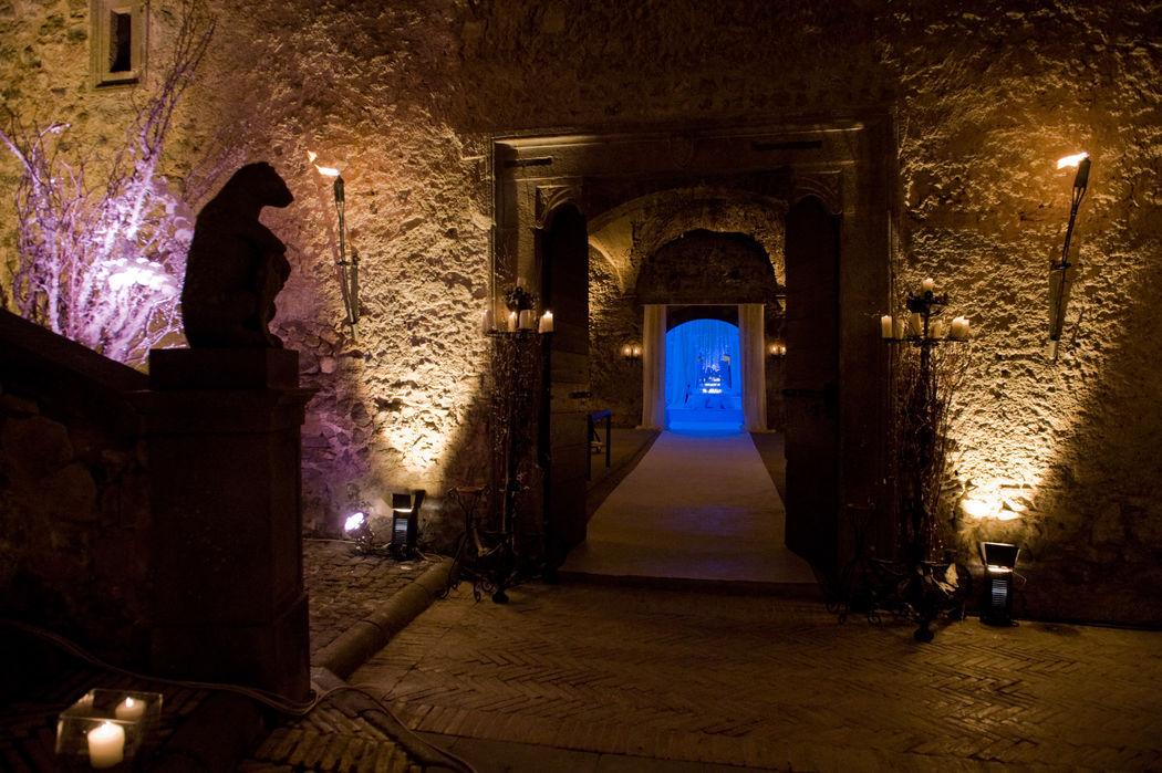 Castello Odescalchi di Bracciano Armerie per il dopo cena Armory for the after dinner